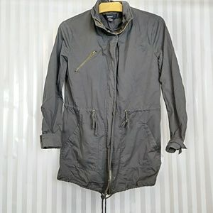 Forever21 gray utility jacket